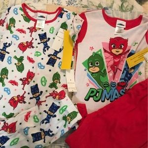 Pj mask pajamas 2 pair